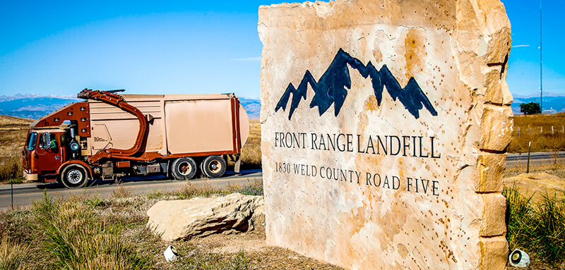Disposal Fees | Services | Front Range Landfill